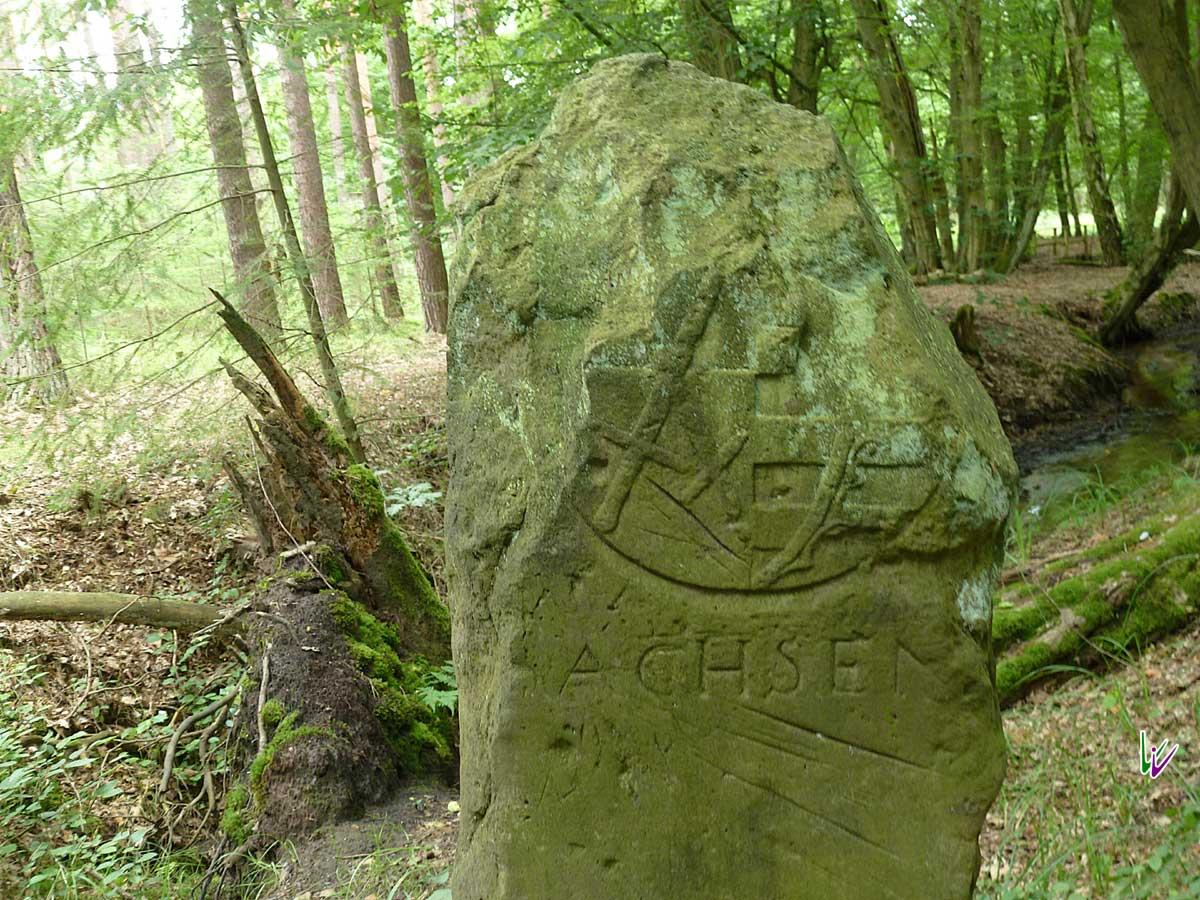 Grenzstein Sachsen Brandenburg