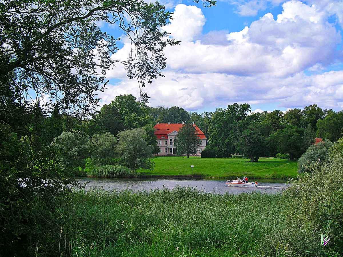 Das Schloss Criewen in Brandenburg
