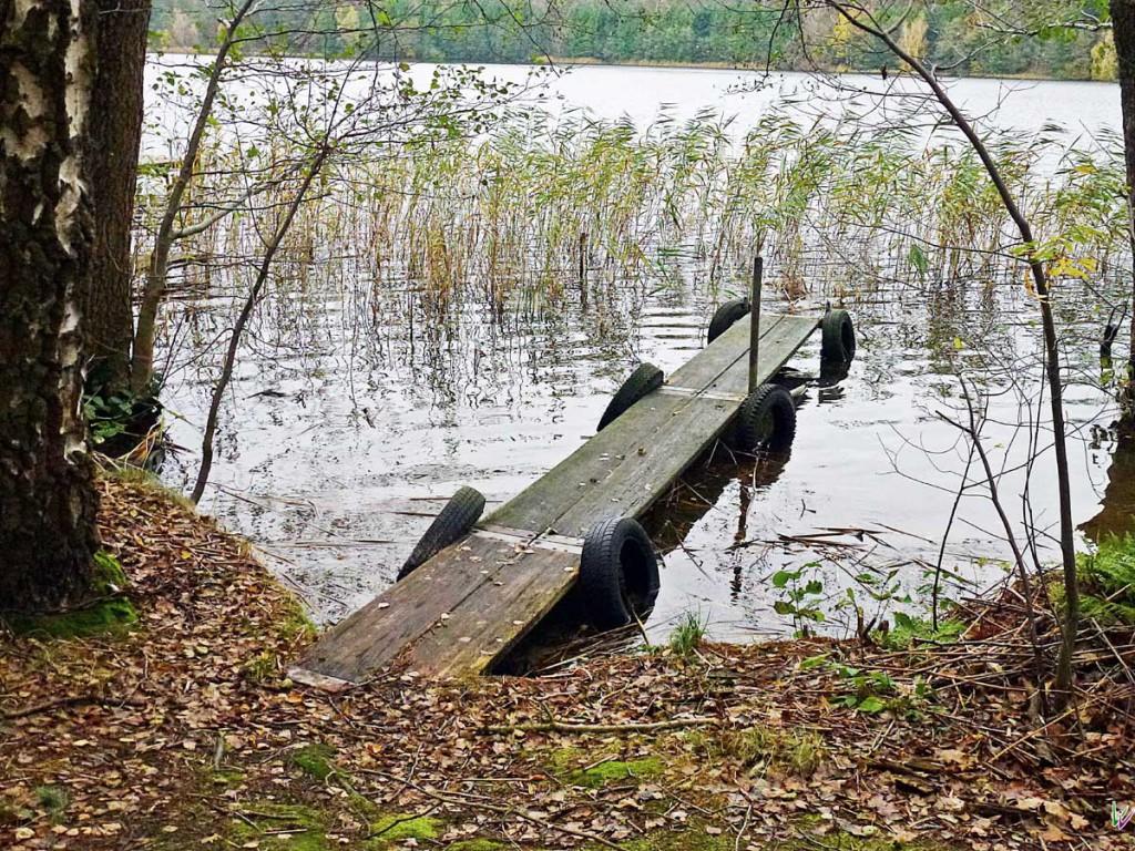 amphibischer Steg
