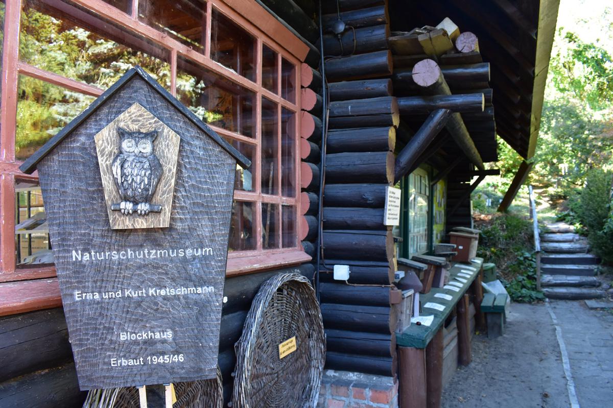 Haus der Naturpflege mit Naturschutzmueseum