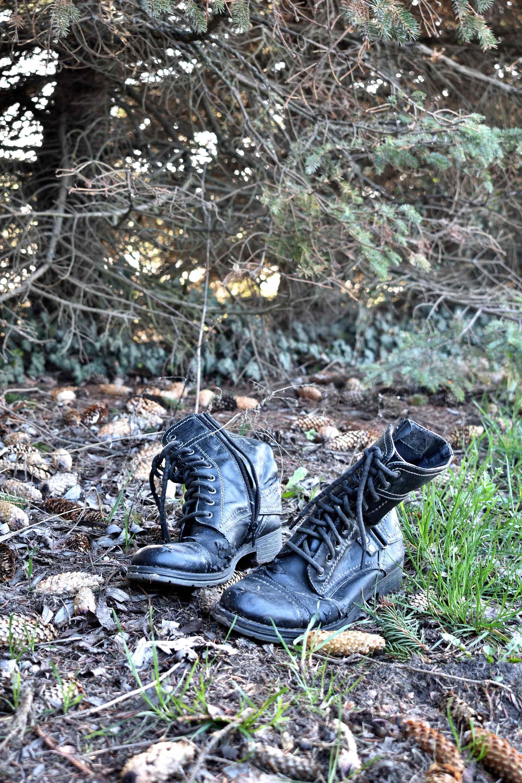 herrenlose Schuhe