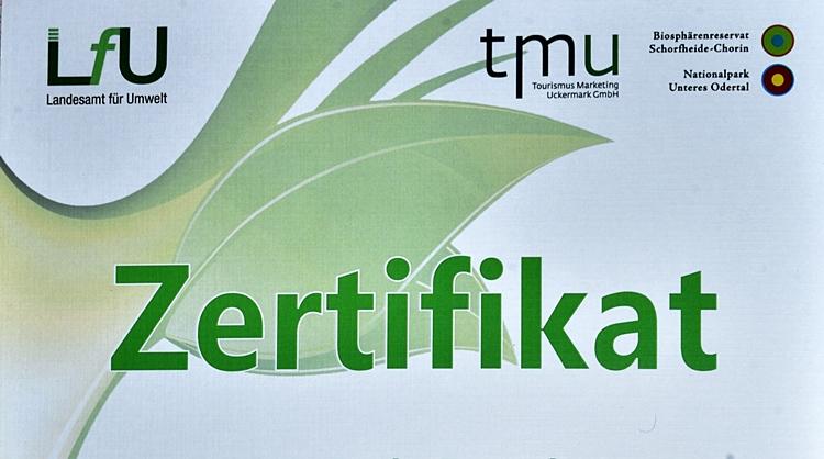 Zertifikat eines ZNL