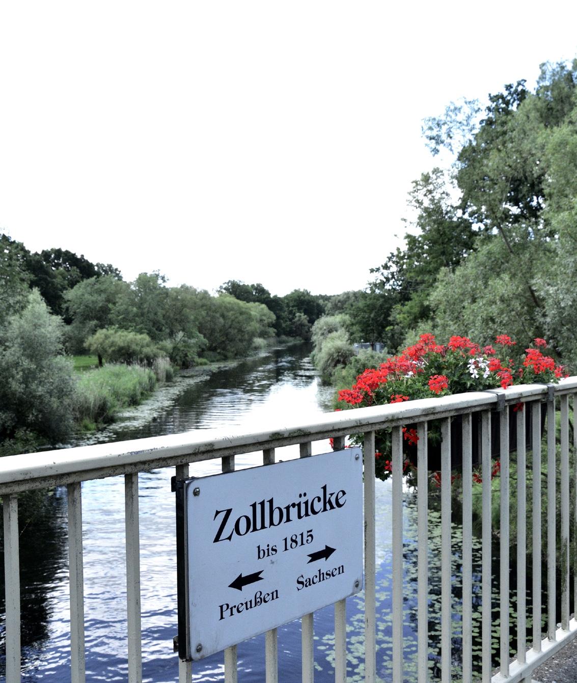 Zollbrücke in Kossenblatt