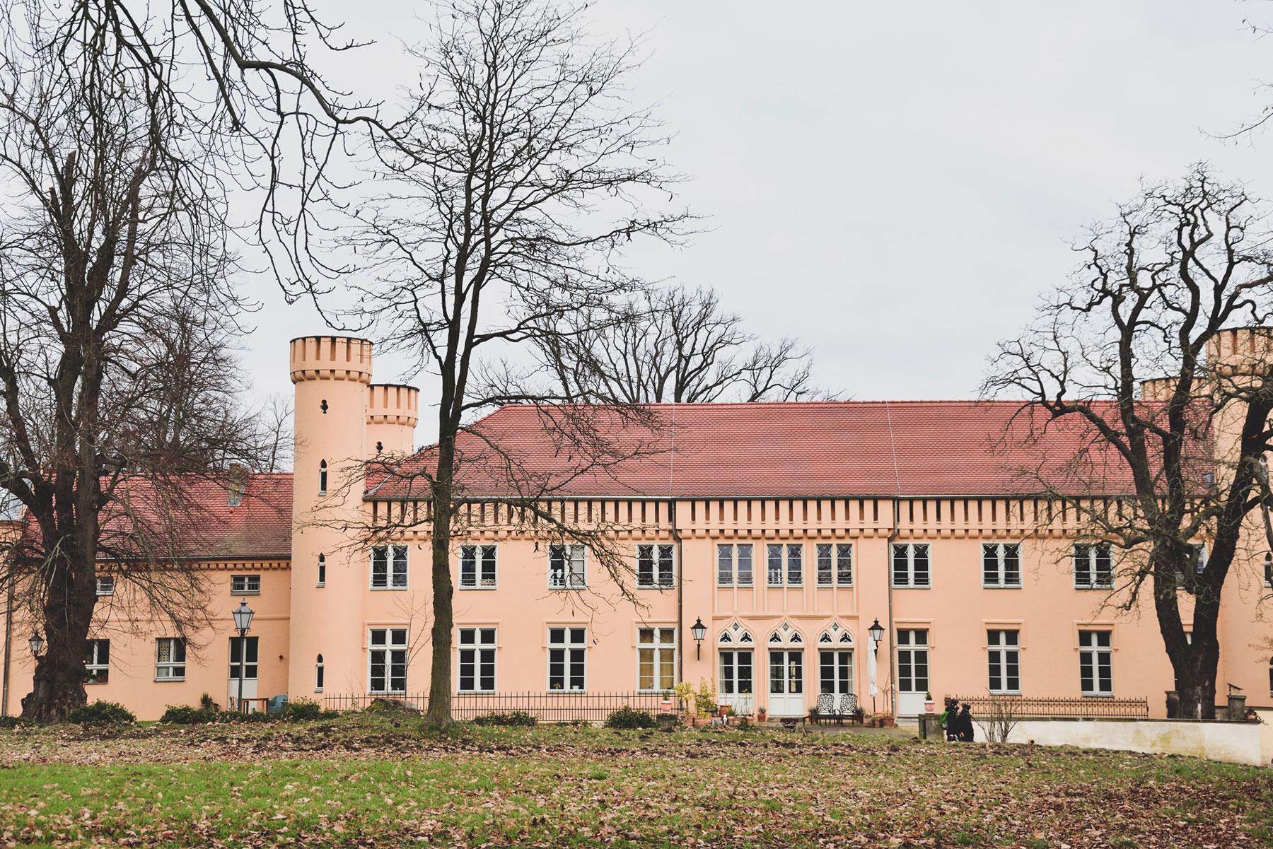 Schloss Petzow Parkansicht