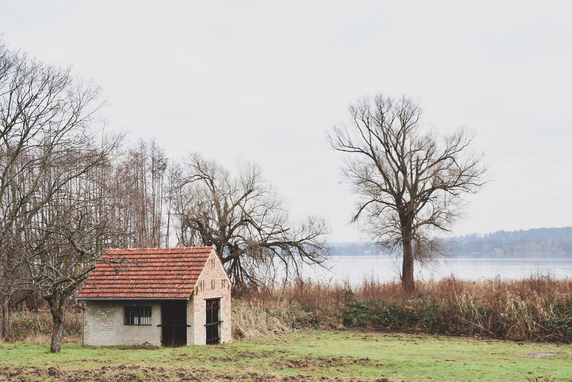 Blick über den Schwielowsee nach Caputh