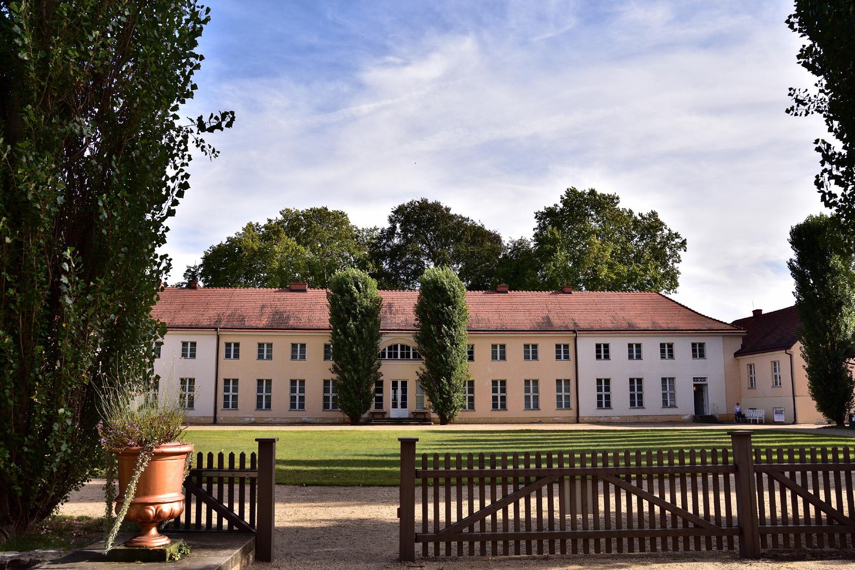 Ansicht Schloss Paretz
