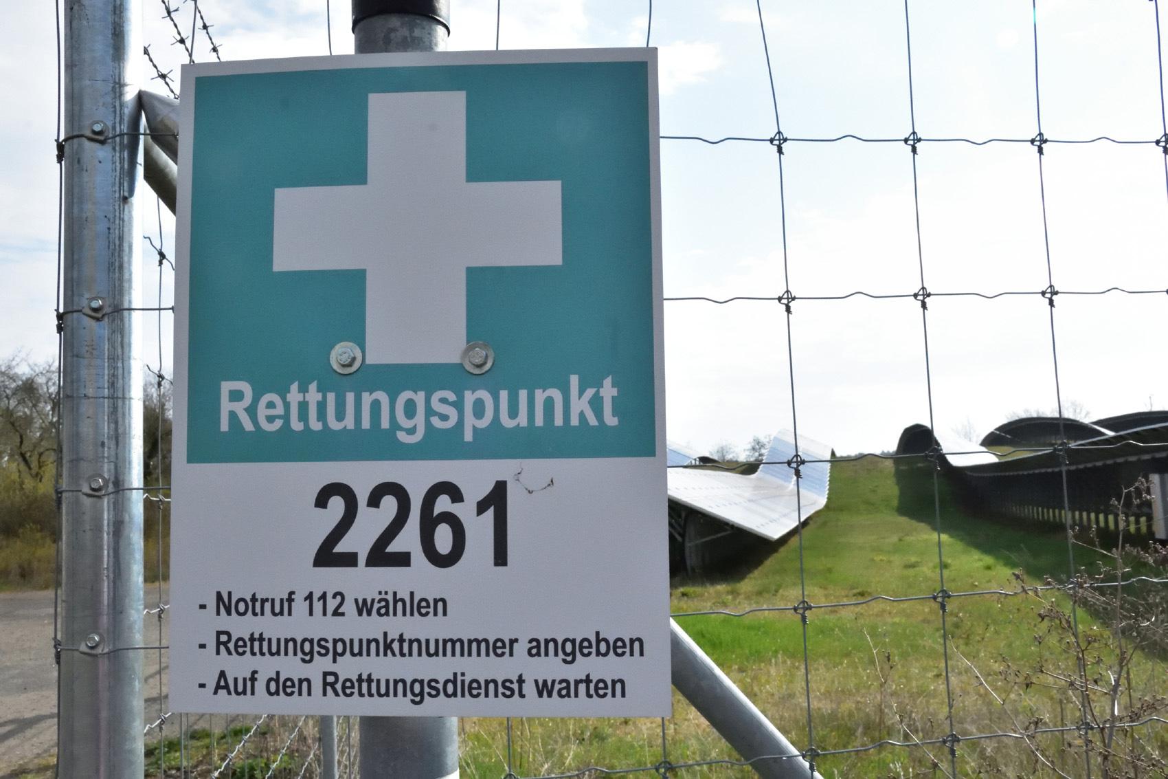 Rettungspunkt in Brandenburg