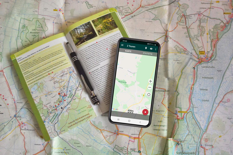 Karten zur Wanderplanung
